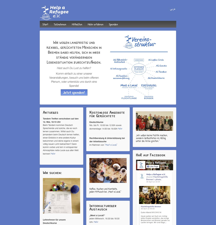 HaR-Webseite
