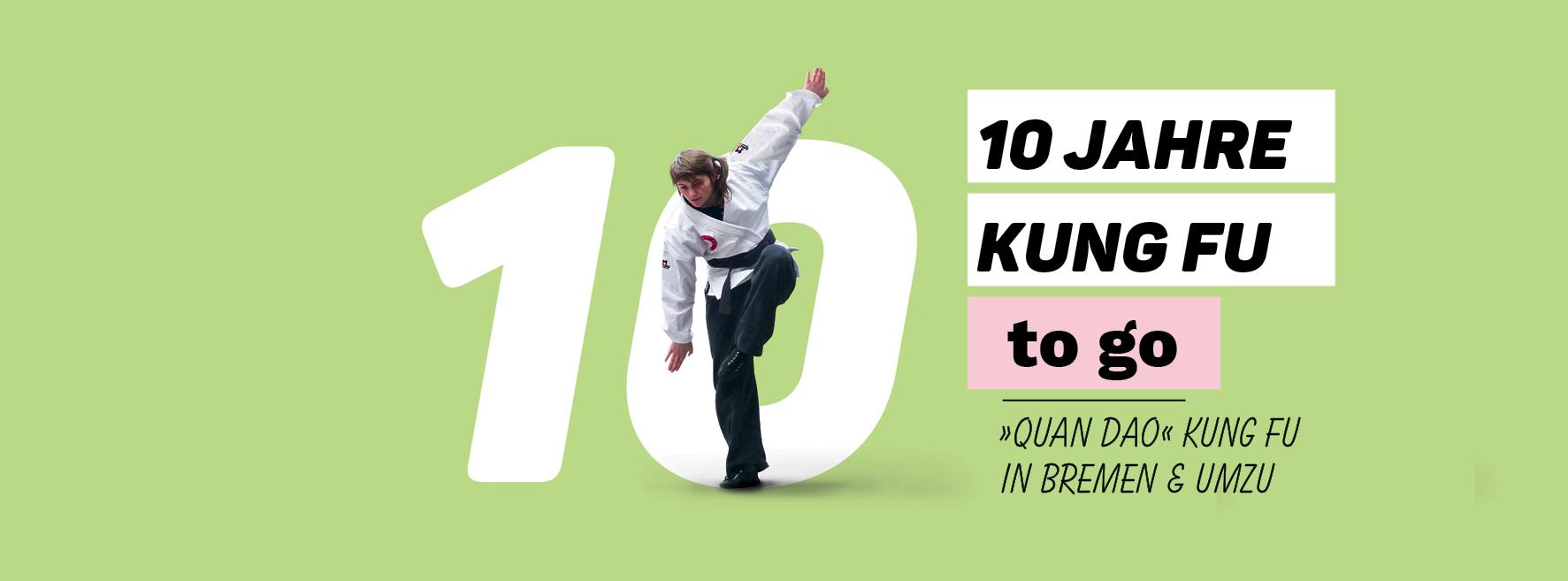 """10 Jahre """"KUNG FU to go"""" in Bremen und UmzuEinladungsdesign – ein Projekt von Simon Sleegers"""
