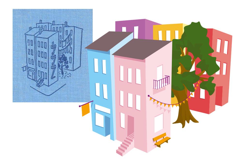 NISCHE (Nachhaltigkeit in Schwachhausen entwickeln) ein soziales Gestaltungsprojekt rund um Nachbarschaftshilfe und Nachhaltigkeit – Logogestaltung und CD von Simon Sleegers