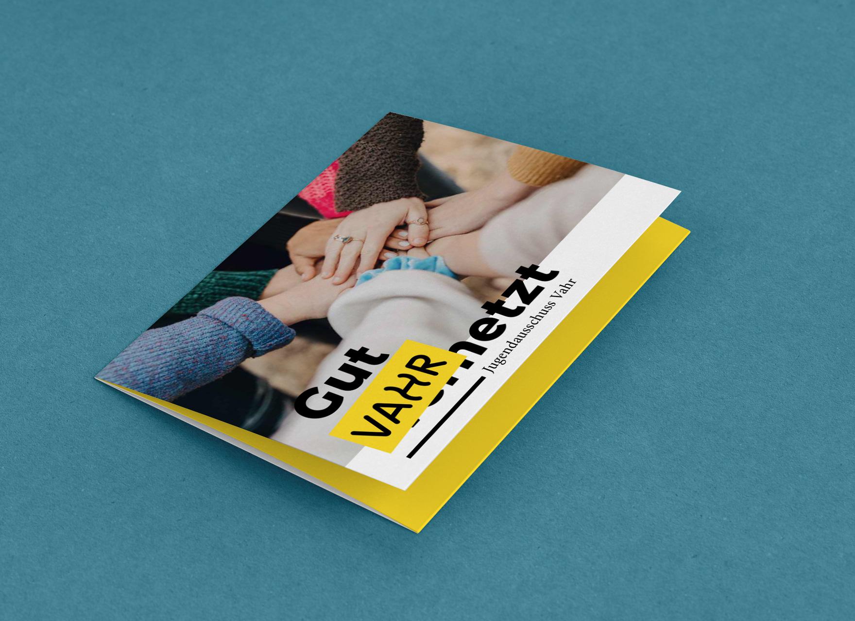 Jugendausschuss Neue Vahr Flyer – ein Projekt von Simon Sleegers