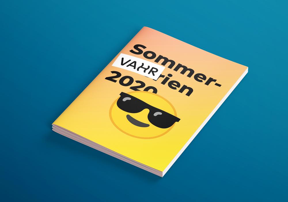 SommerVAHRien 2020 Flyer – ein Projekt von Simon Sleegers